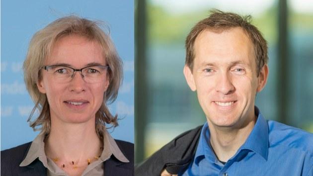 Prof. Regine Gerike und Prof. Marc Timme